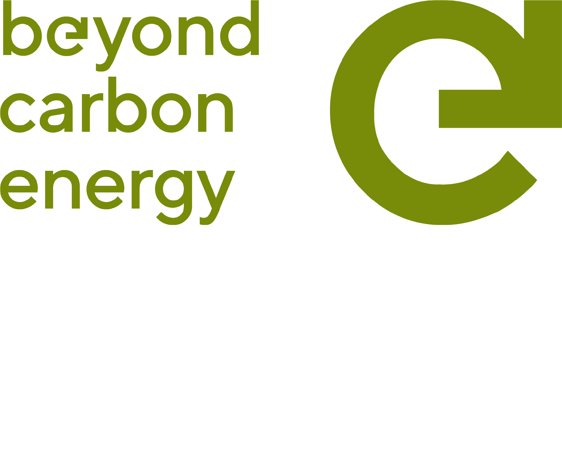 Beyond Carbon Energy